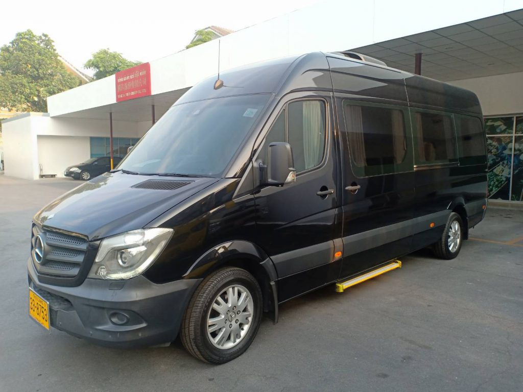 VIP bus service with driver Thailand