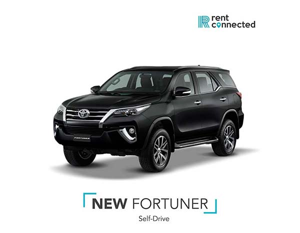 rent fortuner in Udon Thani